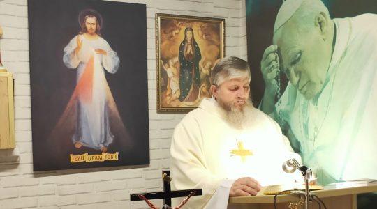 Omelia di padre Jarek-25.05.2020