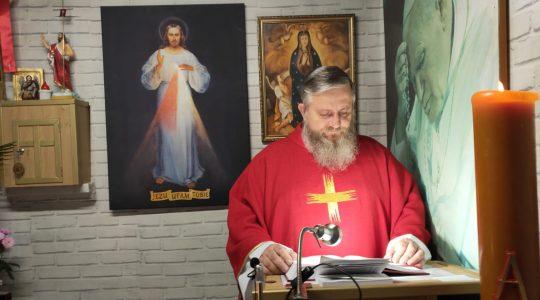 Transmisja z Mszy Świętej i Nabożeństwo Majowe-06.05.2020