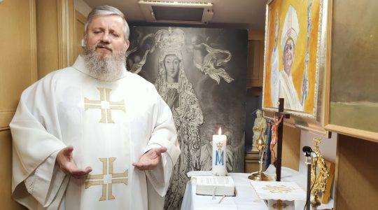 Transmisja z Mszy Świętej i Nabożeństwo Majowe-17.05.2020