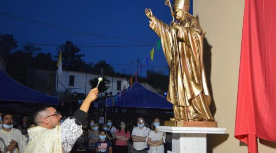 Włosi nie zapominają o św. Janie Pawle II (29.06.2020)