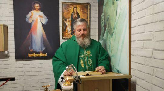 Transmisja Mszy Świętej-15.06.2020