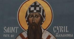 Święty Cyryl Aleksandryjski, biskup, patriarcha i doktor Kościoła (27.06.2020)