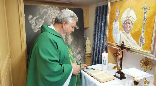 La Santa Messa in diretta.09.07.2020