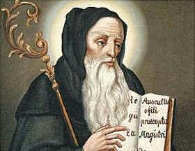 Święty Benedykt z Nursji, opat, patron Europy (11.07.2020)