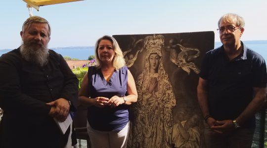 Spotkanie z Gisellą z Trevignano Romano (2.06.2020)