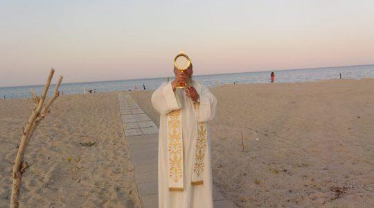 Plażowicze skorzystali z zaproszenia (13.07.2020)