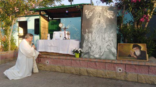 Adorazione Eucaristica e Santo Rosario-Adoracja Eucharystyczna i Różaniec-12.07.2020