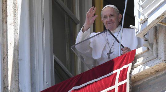 Anioł Pański z Ojcem Świętym Franciszkiem (Charbel TV News - 05.07.2020)