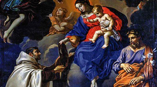 Najświętsza Maryja Panna z góry Karmel Szkaplerz karmelitański (16.07.2020)