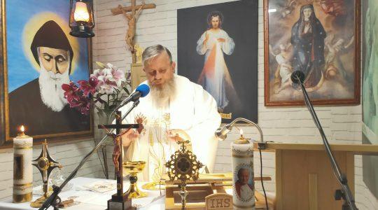 Transmisja Mszy Świętej-07.08.2020