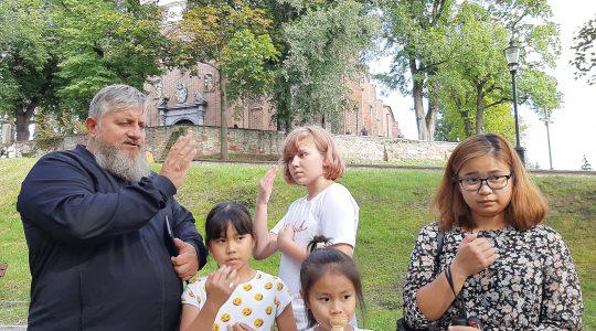 Wspólna modlitwa w Sandomierzu (25.08.2020)
