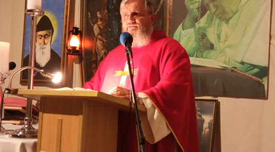 Transmisja Mszy Świętej-Męczeństwo św. Jana Chrzciciela 29.08.2020