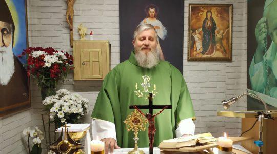 Transmisja Mszy Świętej-XIX Niedziela Zwykła 09.08.2020