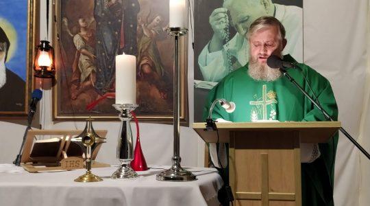Transmisja Mszy Świętej-25.09.2020