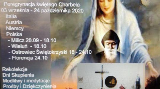List Biskupa na rozpoczęcie polskiego etapu Peregrynacji wizerunku świetego Charbela i relikwii