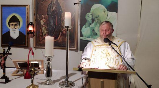 La Santa Messa in diretta- Santo Padre Pio da Pietrelcina-23.09.2020