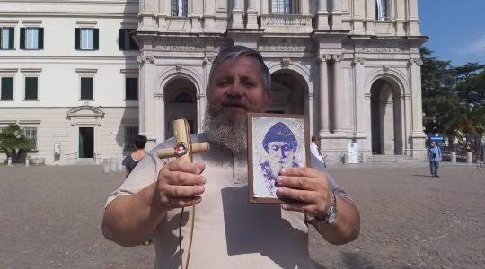 Padre Jarek ha pregato a Pompei per il compleanno della Madonna (08.09.2020)
