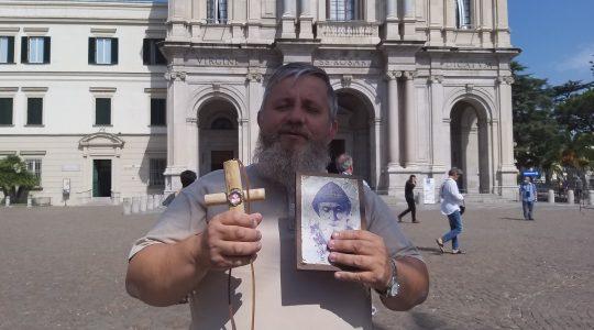 Modlitwa księdza Jarka w dniu urodzin Matki Bożej w Pompejach (08.09.2020)