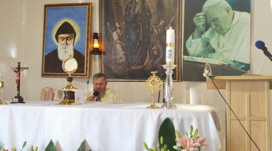 Nabożeństwo  z modlitwą o uzdrowienie przez wstawiennictwo św. Charbela-22.09.2020