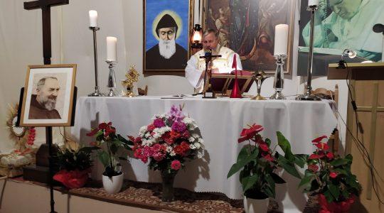 Transmisja Mszy Świętej-Wspomnienie Świętego Ojca Pio z Pietrelciny-23.09.2020
