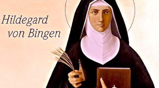 Święta Hildegarda z Bingen, dziewica i doktor Kościoła (17.09.2020)