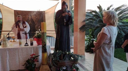 Św. Charbel pożegnał Italię (17.09.2020)