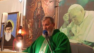 Transmisja Mszy Świętej-10.10.2020