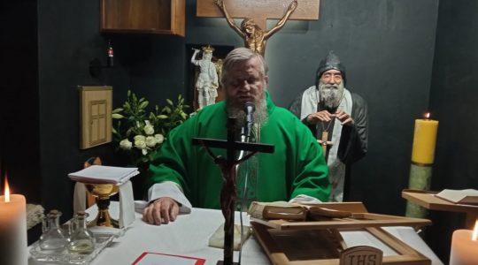 La Santa Messa dalla cappella di San Charbel-Florencja 27.10.2020