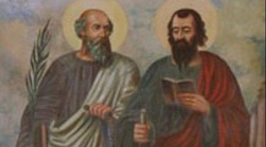 Święci Apostołowie Szymon i Juda Tadeusz (28.10.2020)