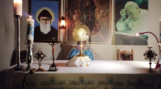 Transmisja modlitwy różańcowej-Il Santo Rosario in diretta-19.10.2020