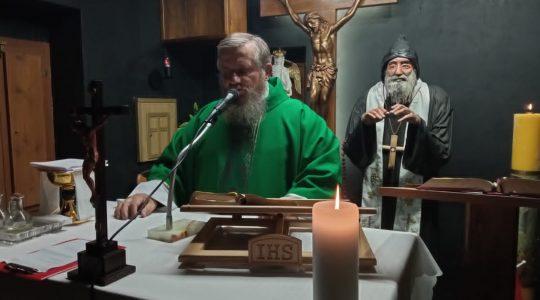 La Santa Messa in diretta-Florencja 26.10.2020