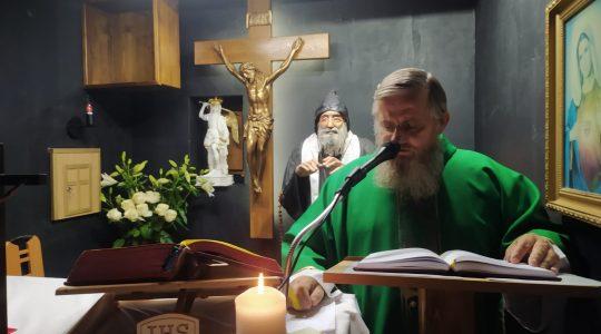 Transmisja Mszy Świętej z kaplicy św. Charbela-Florencja 27.10.2020