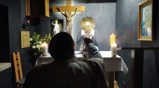 Transmisja modlitwy różańcowej- Il Santo Rosario-in diretta-Florencja 27.10.2020