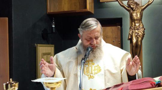 Transmisja Mszy Świętej-Florencja 31.10.2020