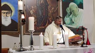 Transmisja Mszy Świętej- Uroczystość św. Faustyny Kowalskiej-Florencja 05.10.2020