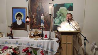 Transmisja Mszy Świętej-parafia Matki Bożej Wniebowziętej i św. Charbela-Florencja 06.10.2020