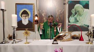 La Santa Messa in diretta-08.10.2020