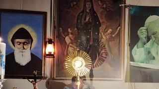 Transmisja modlitwy różańcowej-Il Santo Rosario in diretta-18.10.2020