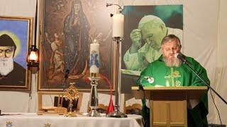 La Santa Messa in diretta alle ore 19.00-15.10.2020
