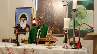 Transmisja Mszy Świętej o godzinie 20.30-15. 10.2020