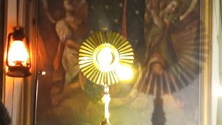 Transmisja modlitwy różańcowej-Il Santo Rosario in diretta-16.10.2020