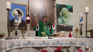 La Santa Messa in diretta alle ore 19.00-(20.10.2020)
