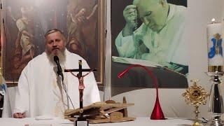 La Santa Messa in diretta-San Giovanni Paolo II-22.10.2020