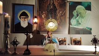 Transmisja modlitwy różańcowej-Il Santo Rosario in diretta-22.10.2020