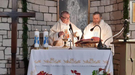 Transmisja Mszy Świętej-Sanktuarium Matki Bożej Wniebowziętej-Florencja 16.11.2020