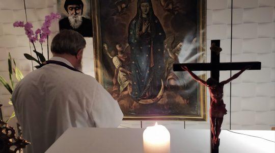 Modlitwa różańcowa w intencji zmarłych-Santo Rosario per i defunti-Florencja 08.11.2020