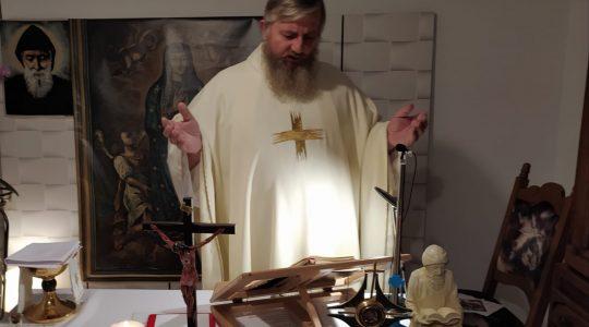 Transmisja Mszy Świętej-wspomnienie Św. Marcina, biskupa-Florencja 11.11.2020