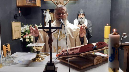 La Santa Messa in diretta-Solennità di tutti i Santi, cappella di San Charbel a Florencja  1.11.2020
