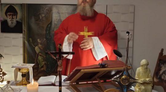 Transmisja Mszy Świętej-Florencja 13.11.2020