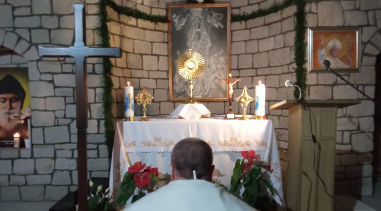 Modlitwa różańcowa w intencji zmarłych-Santo Rosario per i defunti-Florencja 16.11.2020
